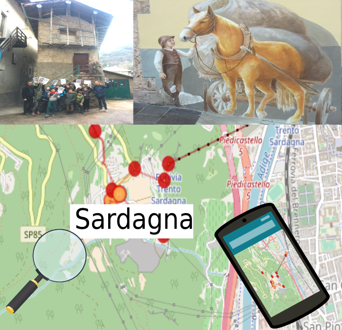 OpenStreetMap Into the Wild – Sardagna 2018